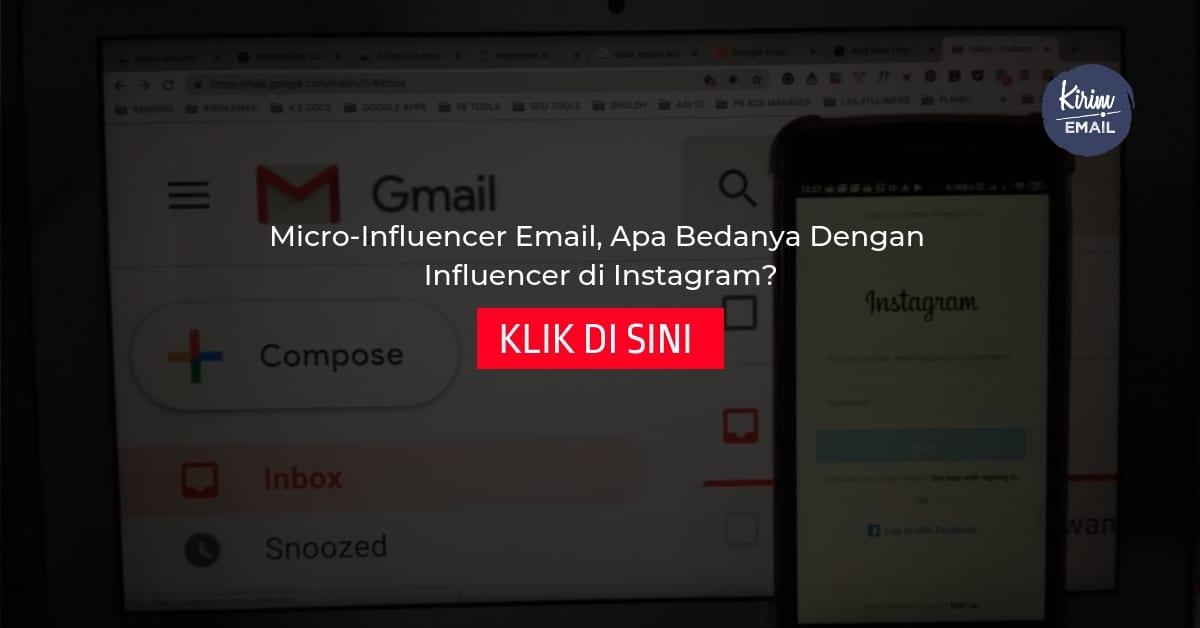 Micro-Influencer Email Apa Bedanya Dengan Influencer di Instagram