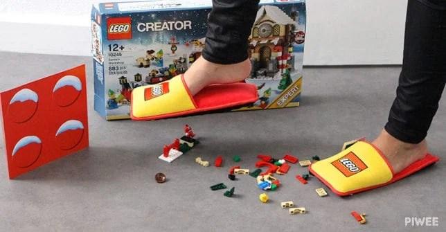 sandal anti lego