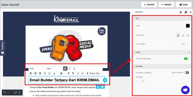 Preview Email Builder Terbaru Dari KIRIM.EMAIL - 3