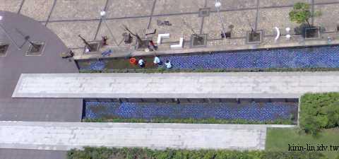 南港園區的水池