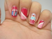 happy birthday nails kiri's