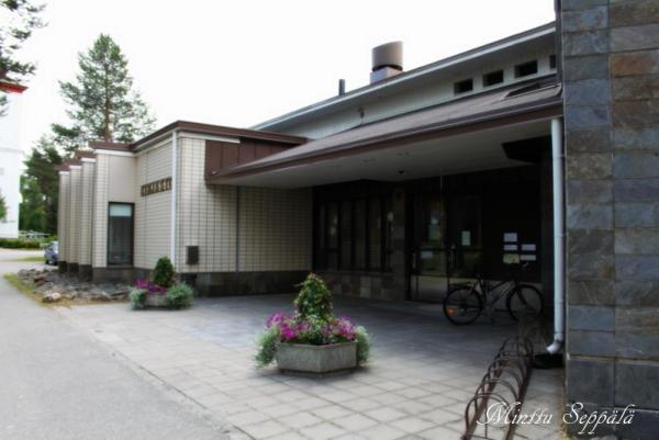 Sodankylän kirjasto sisäänkäynti