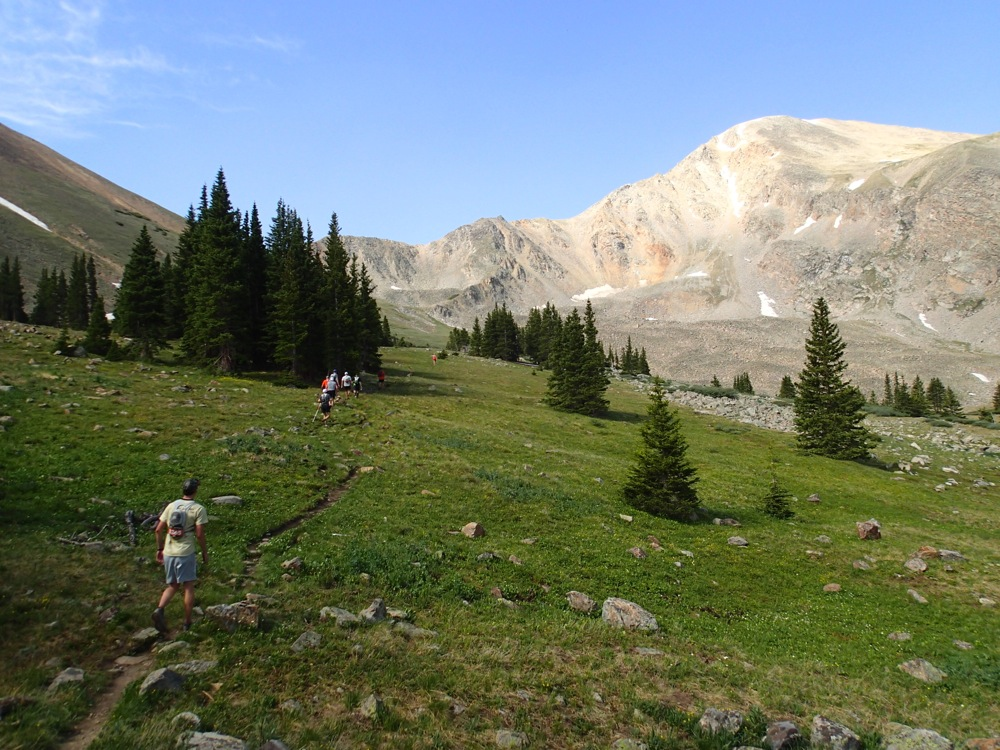 Leadville 100 Race Report: Treeline to Half Moon: Mile 27.5 – 30.5