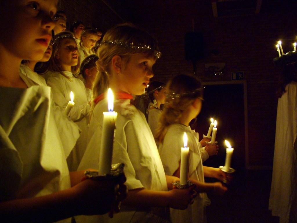 Sankta Lucia Procession