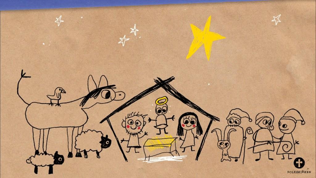 Juleevangeliet fortalt af børn