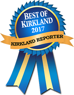 Best of Kirkland 2017 award