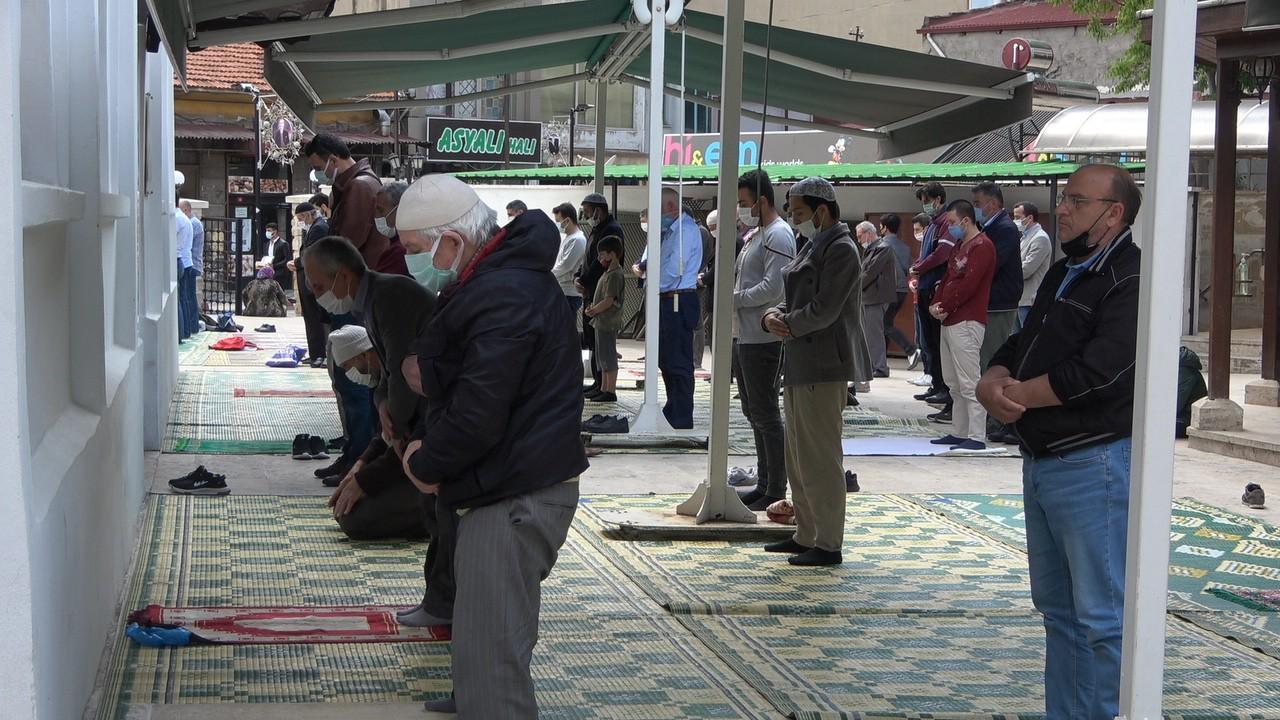 Filistin şehitleri için Kırklareli'nde gıyabi cenaze namazı kılındı