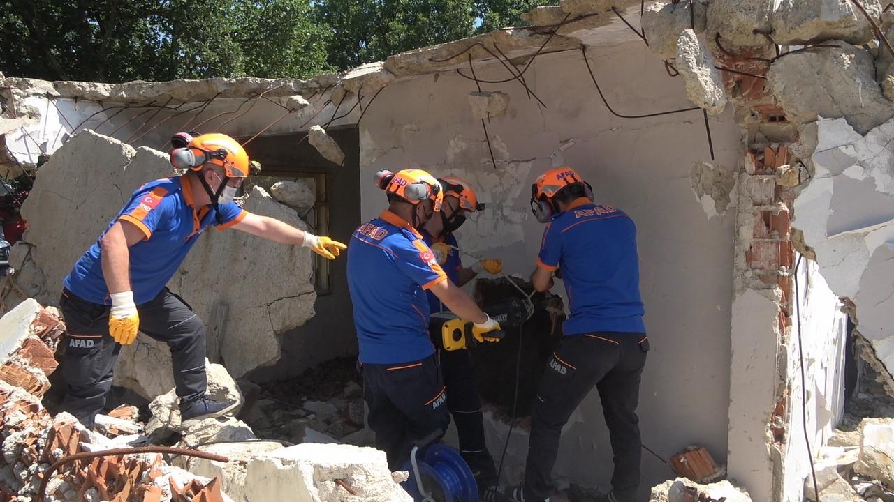 Kırklareli'nde deprem tatbikatı yapıldı