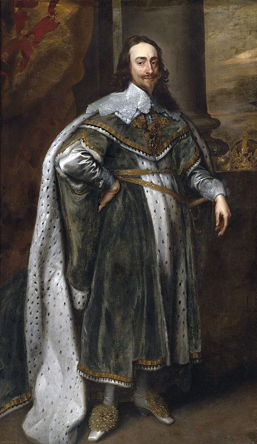 King Charles I by Van Dyke
