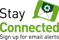 Stay connected - sign up for email alerts