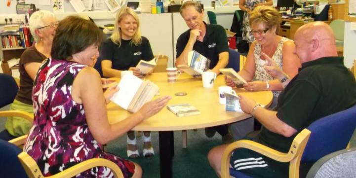 reading group learning library