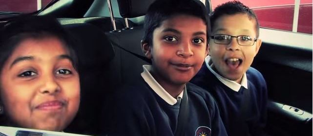 Dewsbury school children star in road safety videos