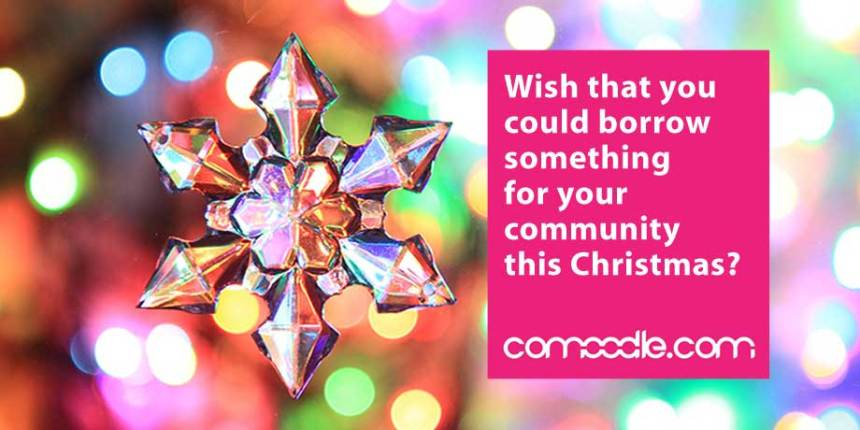 Borrow something for your community group this Christmas