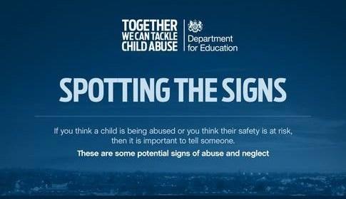 child abuse image - D of E campaign