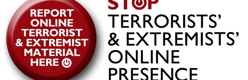 Report terroris button