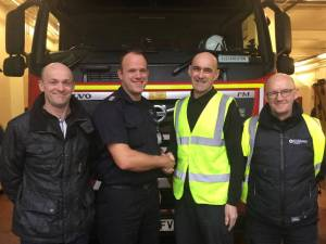 hero bin men and fire crew