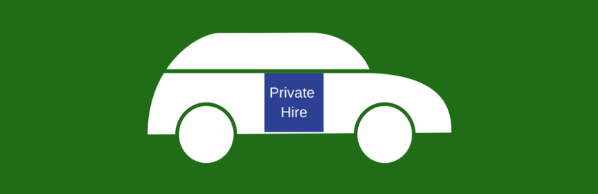 Private Hire cab