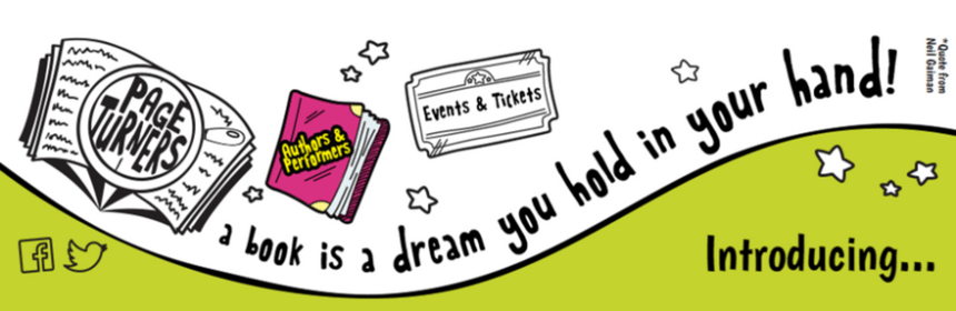 Pageturner banner: a book is a dream you hold in your hand
