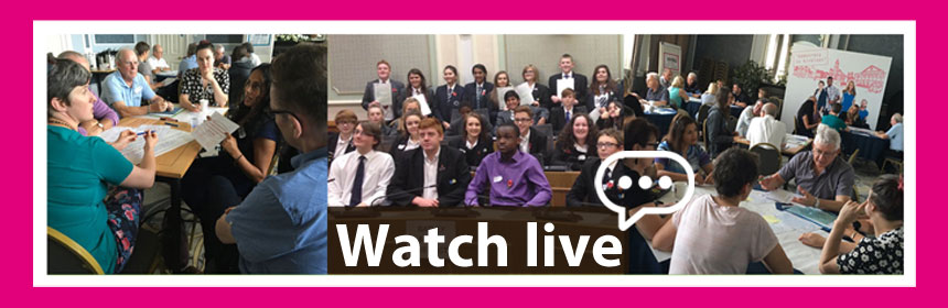 Watch the democracy debate live