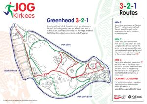 Greenhead Park 321 Route