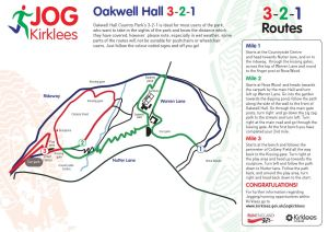 Oakwell Country Park 321 Route