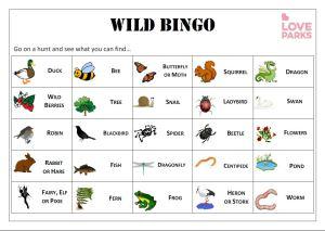 Wild Bingo_LoveParksWeek