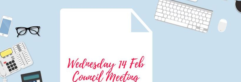 Image showing date of council meeting
