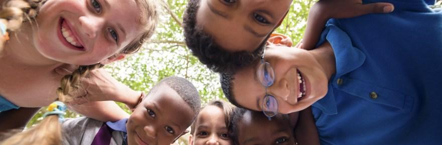 Smiley children