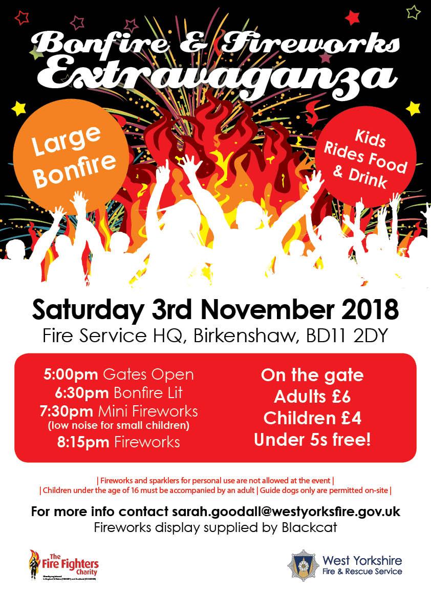 Fireworks Extravaganza Poster 2018