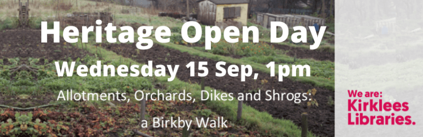 Heritage walk from Birkby and Fartown Library