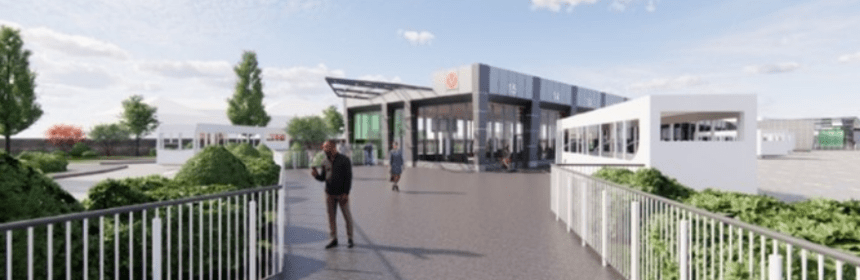 design of the bus station