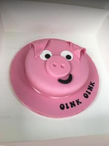 Pig gig cake