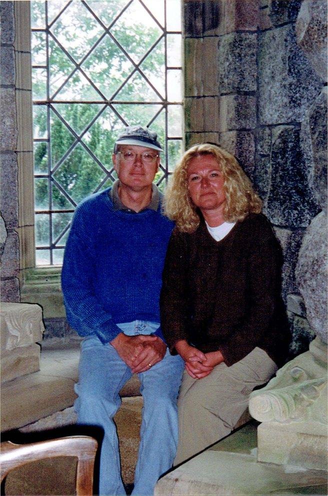 Jody and Laura at chappel