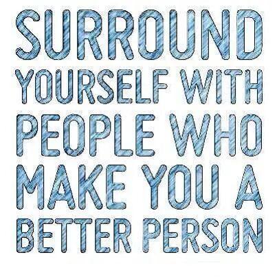 Обграждай се с правилните хора