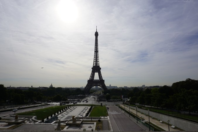 Eiffel Tower from Trocadeo
