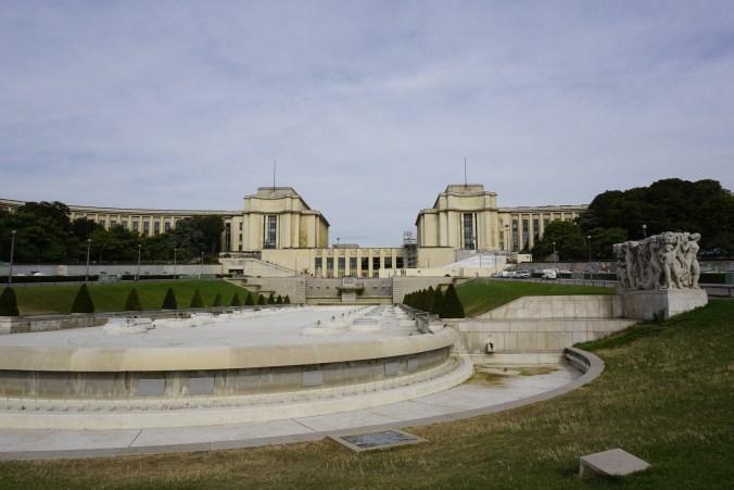 Palais de Chaillot et Trocadero