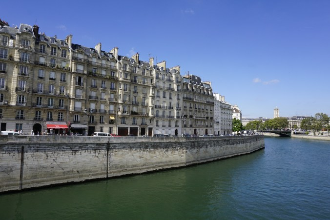 Buildings on Ile de la Cite