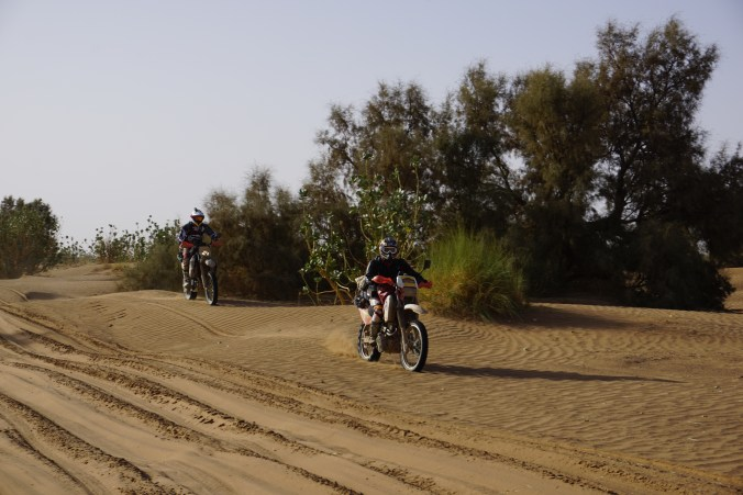 French Riders on KTM 250's