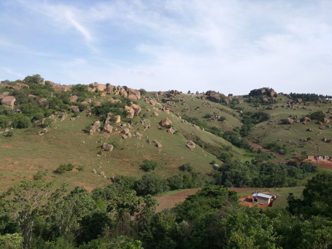 Mountainous Region of Swaziland