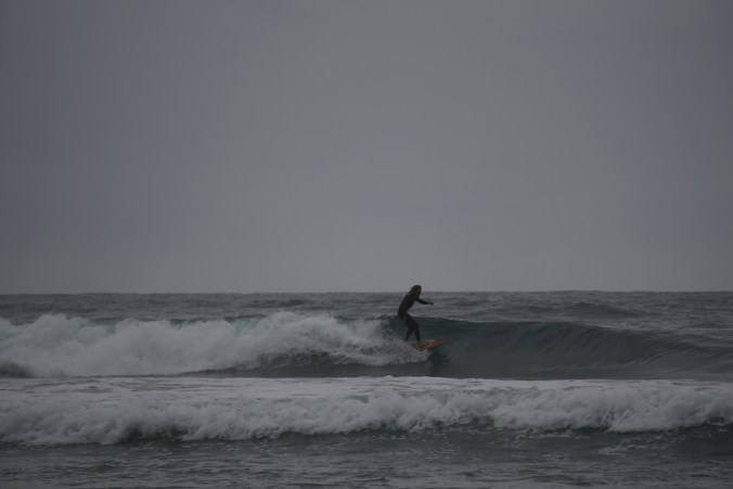 Surfers in Coffee Bay