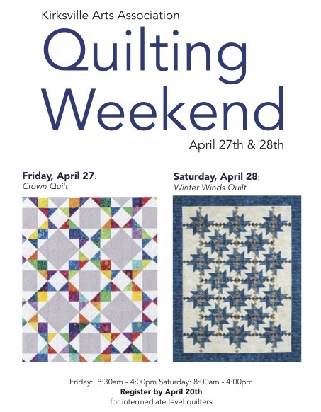 quilting weeked poster