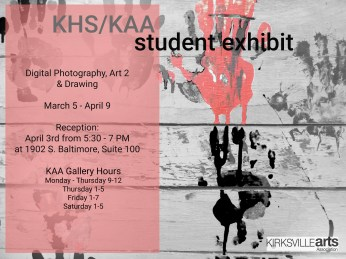 kaa khs exhibit poster 3-2019