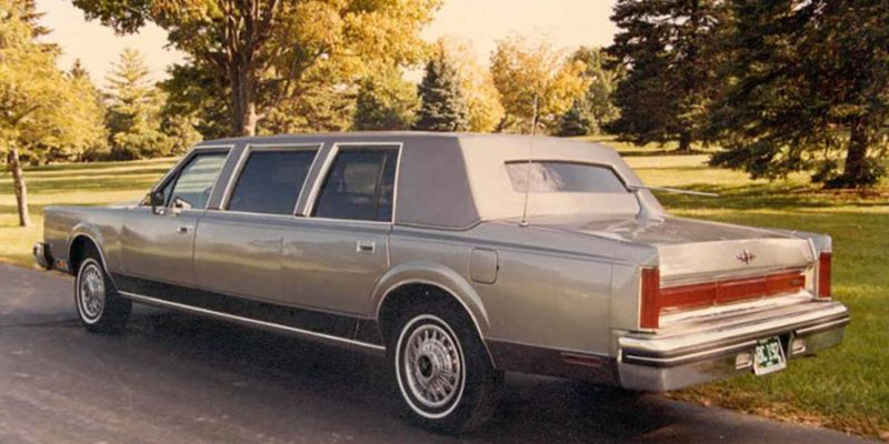 1981 Lincoln Limousine - Niche marketing concept