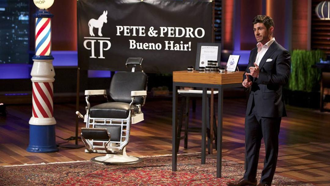 Alpha M is Aaron Marino's Shark Tank Deal, not Pete and Pedro