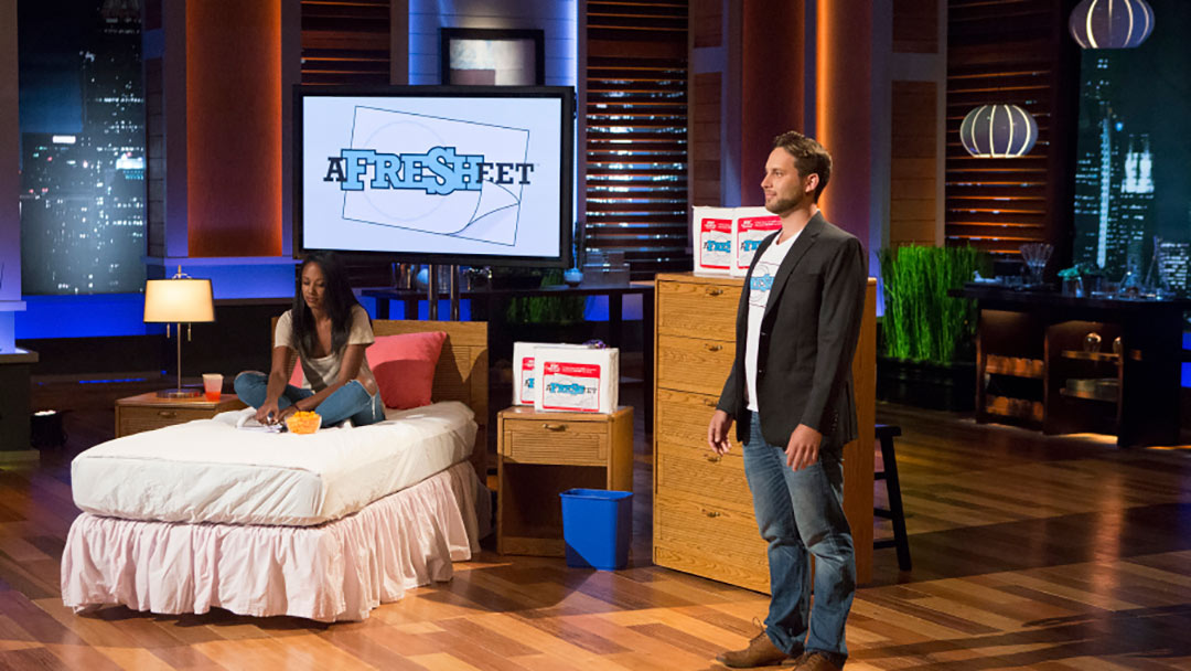 AfreSHeet gets peeled away by the Sharks in Shark Tank