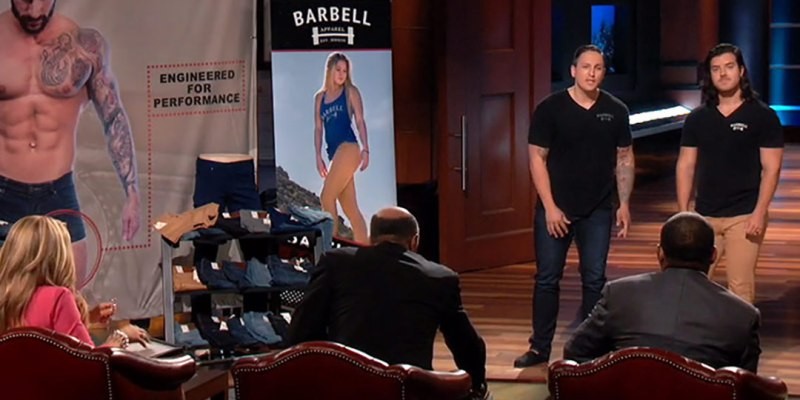 Barbell Apparel's - Shark Tank
