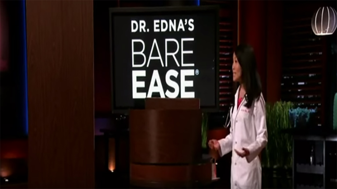 BareEase Bikini Wax Numbing solution on Shark Tank