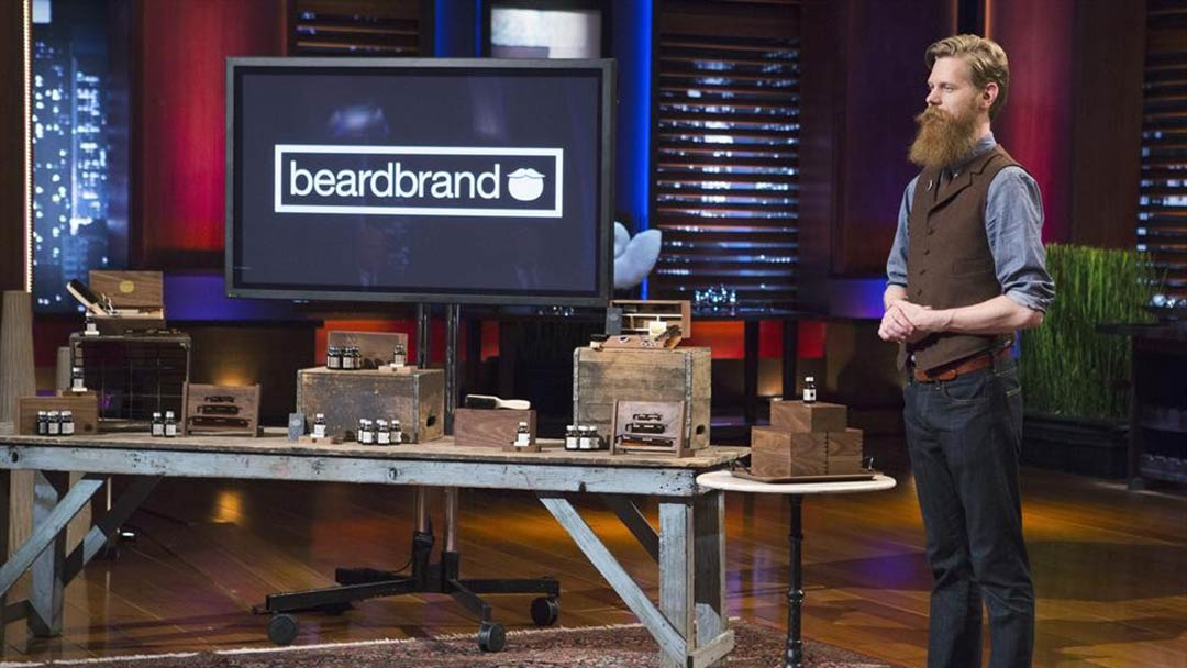 Beardbrand drives Lori Greiner to feel Beard on Shark Tank