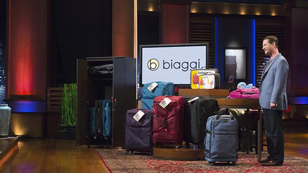 Biaggi Luggage Bags deal with Shark Tank's Lori Greiner