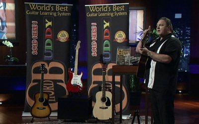 Chord Buddy Guitar Lesson Teaching System Scores Robert Herjavec Shark Tank Deal